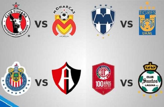 Clásicos tapatío y regiomontano en el inicio de la liguilla de la Liga MX