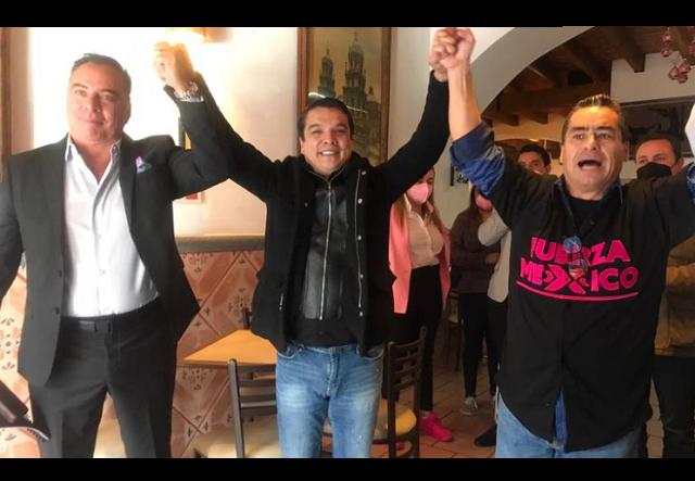 Presenta FXM a Rafael Moreno Valle Buitrón como candidato a alcalde de Puebla