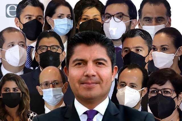 Abre Eduardo Rivera su gabinete al PAN, el PRI y al morenovallismo