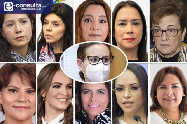 Mujeres dominan en secretarías del gobierno de Barbosa Huerta