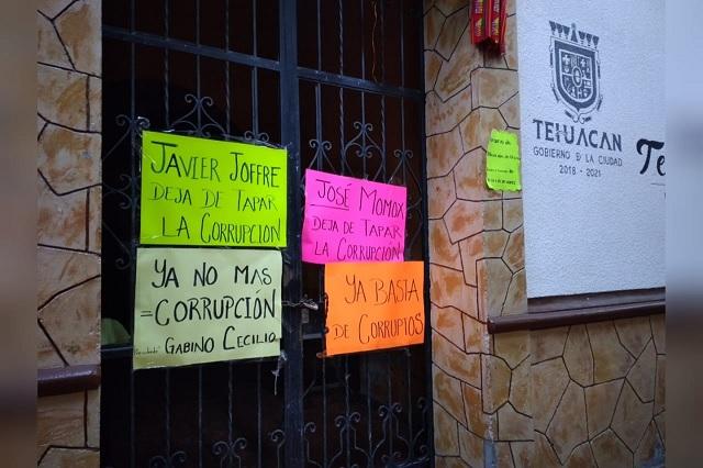 Destituyen a edil auxiliar de Tehuacán por desvío de recursos