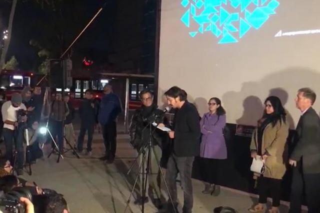 Gael García y Diego Luna pidieron en el Senado debatir la Ley de Seguridad