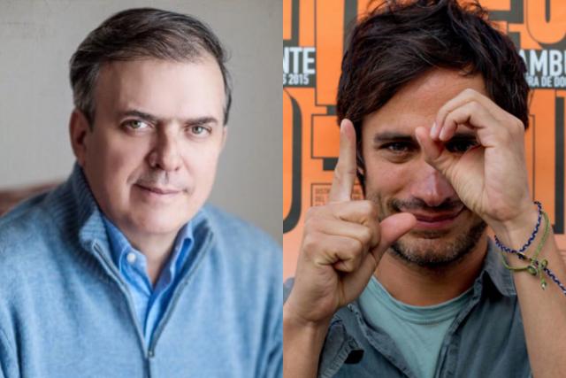 Marcelo Ebrard trollea a Gael García y las redes estallan