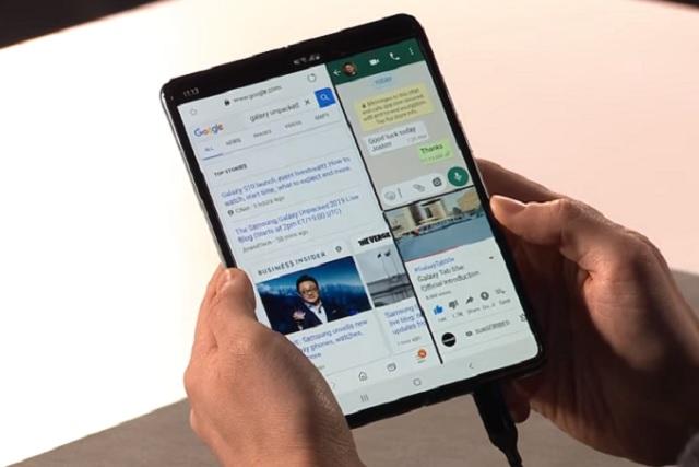 Samsung lanza su primer teléfono plegable y los nuevos Galaxy S10
