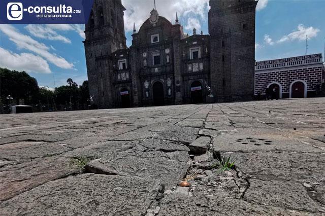 Repararán 32 lajas dañadas por la Capilla Sixtina en Catedral