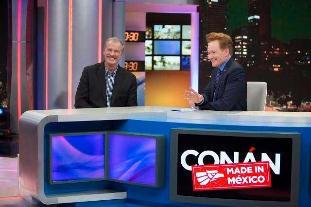 10 fotos de la grabación Conan sin Fronteras: Hecho en México