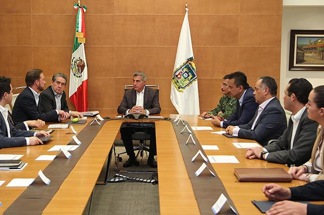 Encabeza Gali reunión con el Grupo de Coordinación Puebla Segura