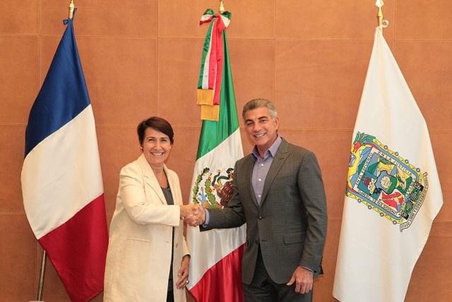 Puebla y Francia mantienen lazos de cooperación