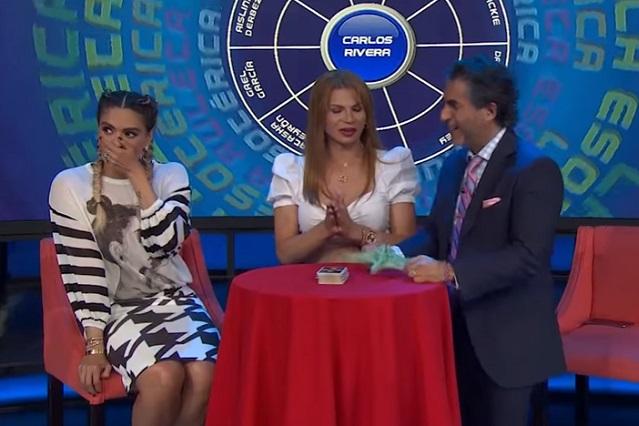 VIDEO Galilea Montijo grita grosería en vivo y esto la asustó