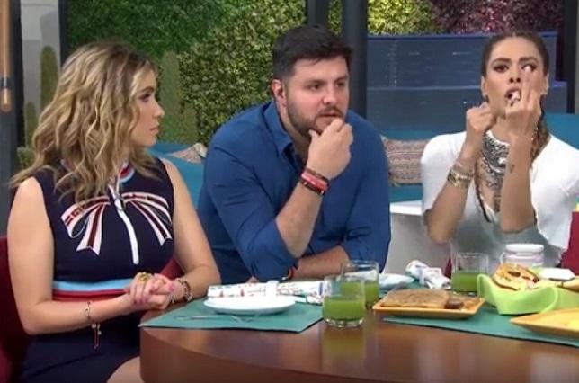 ¿Galilea Montijo le hizo seña obscena a Gael García en Hoy?