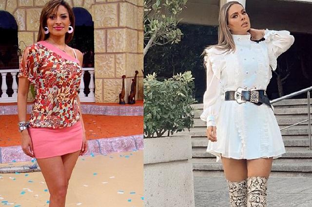 7 fotos que comparan cómo se veía Galilea Montijo y cómo luce ahora