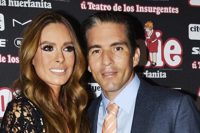 Galilea Montijo y Fernando Reina celebran su noveno aniversario de bodas
