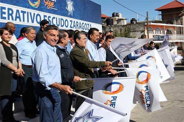 En Teziutlán, el gobernador Gali pone en marcha Escudo Zaragoza