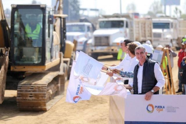 Inicia Gali construcción del Paso Superior Vehicular de la Autopista