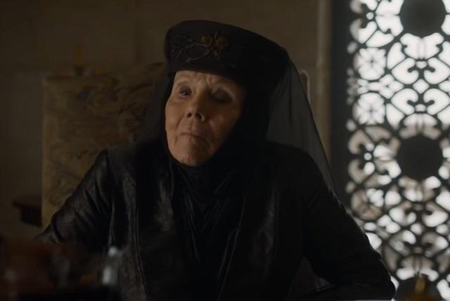 Muere Diana Rigg, Olenna Tyrell en Game of Thrones