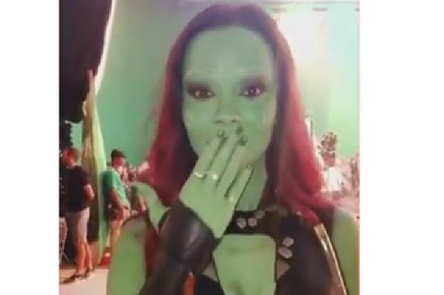 Video de Gamora hablando español se viraliza en Instagram