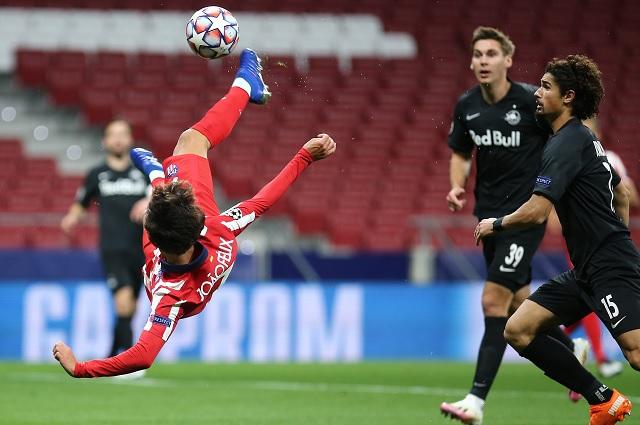 Atlético de Madrid se impone en casa ante Salzburg en UCL