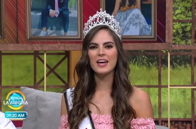 Ganadora de Mexicana Universal aún no está lista para Miss Universo