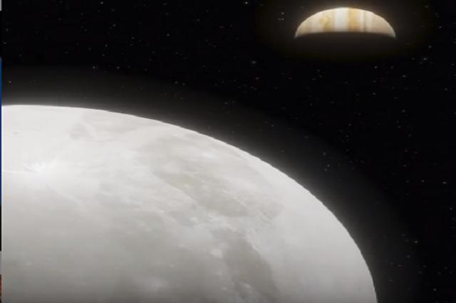 Hubble descubre existencia de vapor de agua en la luna de Júpiter