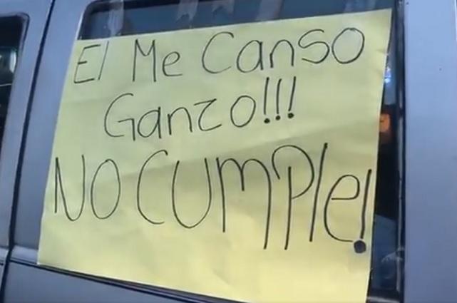 Ese ganso no cumple, le dicen a AMLO en Michoacán