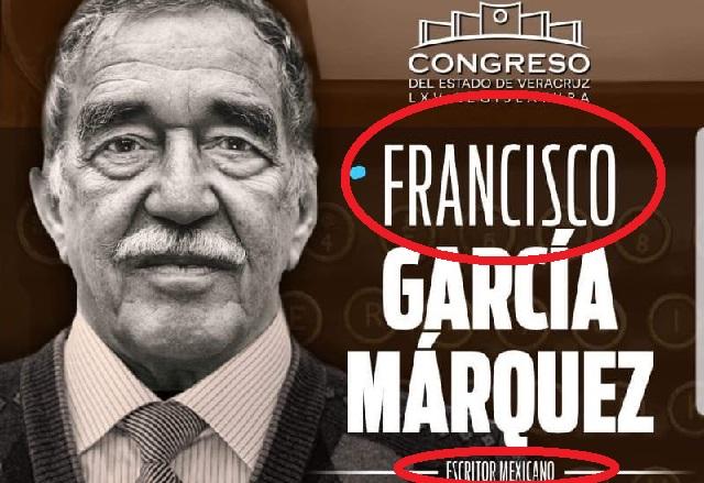 Epic fail: ¿García Márquez se llama Francisco y es mexicano?
