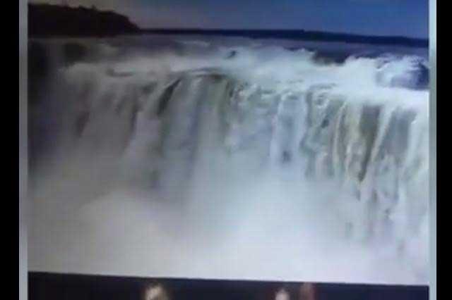 Turista graba suicidio de un joven en la Garganta del Diablo