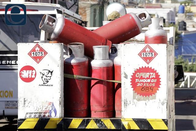 Gas en Puebla a 11.94 pesos el litro y a 23.87 pesos el kilo