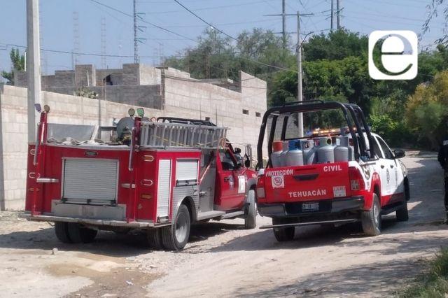 Hallan bodega clandestina de gas LP en Tehuacán