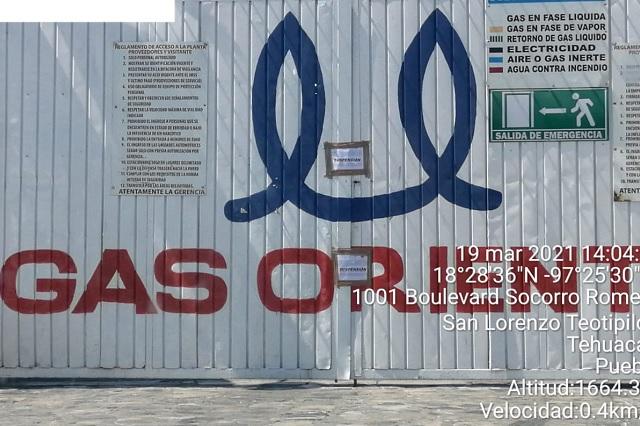 Inhabilitan gas de Oriente por personal irresponsable