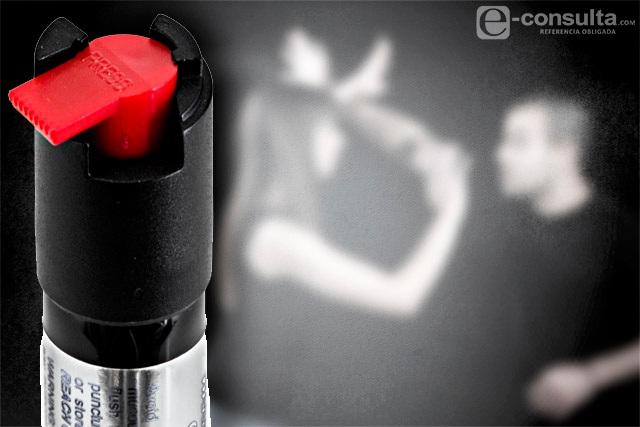 Autoriza Congreso uso de gas pimienta para la autodefensa