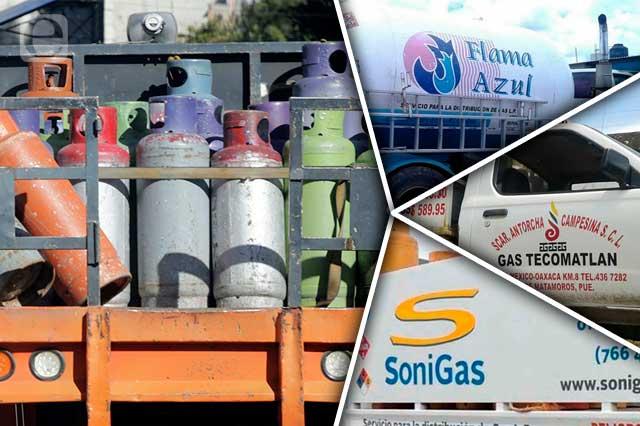 Solo 9 gaseras de Puebla vendían barato antes del tope a precios