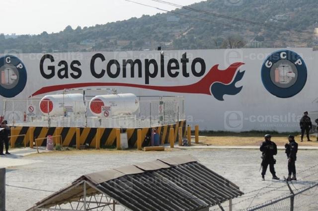 Buscan liga de gaseras en Puebla con el crimen organizado