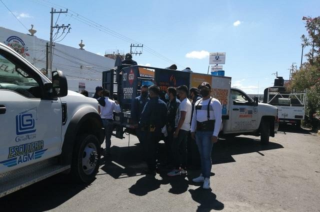 Pelea entre gaseros de Tehuacán termina en balacera