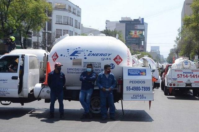 Gaseros inician paro nacional por fijación de precios