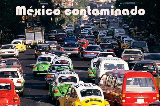 México produce demasiados gases contaminantes