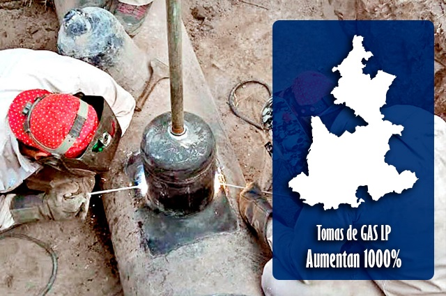 Puebla es primer lugar nacional en robo de gas LP con todo y pipas