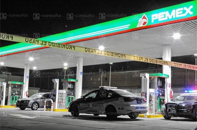 Asaltan gasolinera de ex Rancho Vaquerías en Puebla
