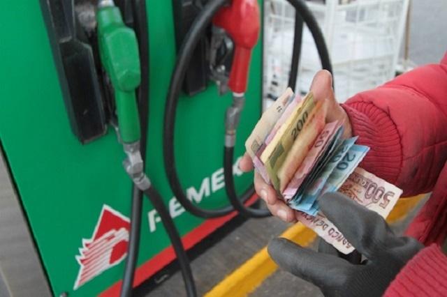 Gasolinas en Puebla cuestan 9.6% más que al iniciar el año