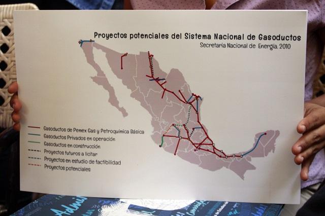 Opositores al gasoducto ven alza en presiones con gobierno de AMLO