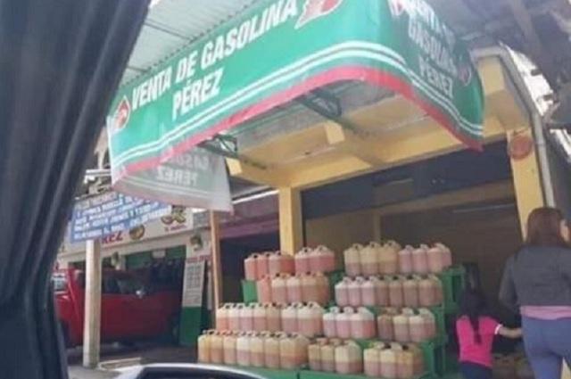 Publican fotografía de local de huachicoleros de Hidalgo