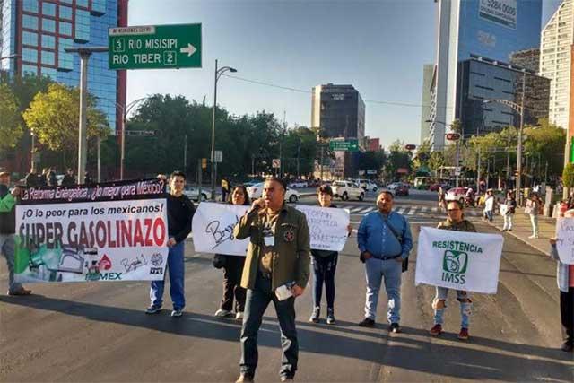 Protestan en contra del gasolinazo en 30 estados del país