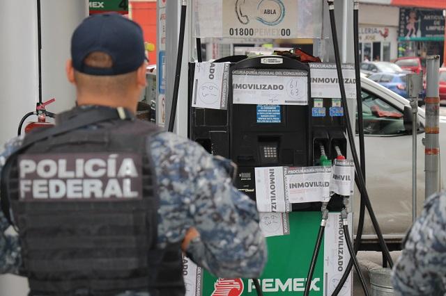 Bloquea SHCP a 6 gasolineras poblanas por nexo huachicolero