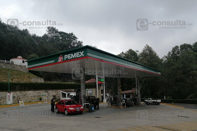 Opera con normalidad gasolinera de Zacapoaxtla que se negó a verificación