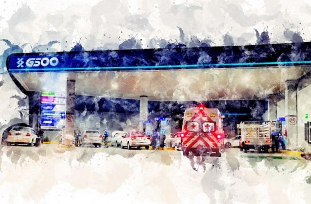 MCCI revela en dónde cargan gasolina las ambulancias de la Cruz Roja
