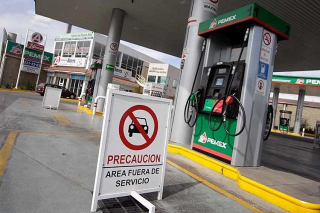 Luego de operativos fueron clausuradas cinco gasolineras, informa Gali