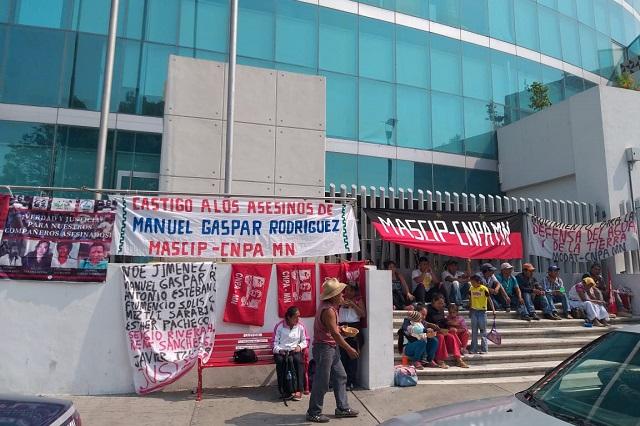 Ven causas sociales en crimen de Manuel Gaspar, en Cuetzalan