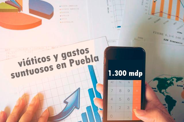 Gastó Puebla 1 mil 297 mdp en viajes y ceremonias sólo en 3 años
