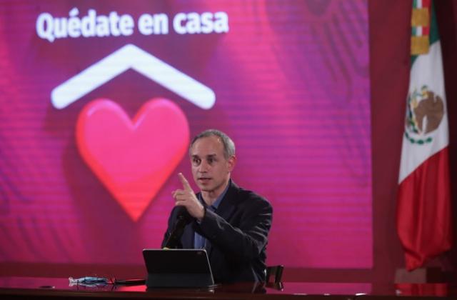 Foto: Twitter Hugo López-Gatell