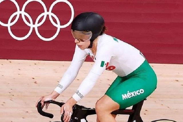 Va Daniela Gaxiola por la hazaña en el ciclismo olímpico