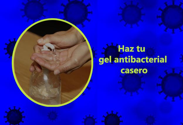 COVID-19 ¿Cómo hacer gel antibacterial desde casa?